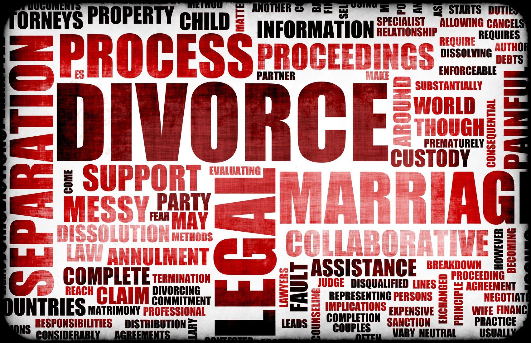 going through divorce help