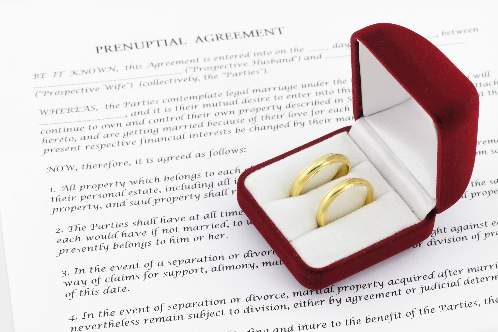 same sex prenuptial agreement in Lancaster